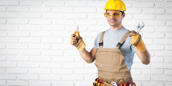 42690704 - build, background, laborer.